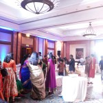 Chennai Master of Ceremonies Emcee Nandhini hosting Sangeet of UK Family