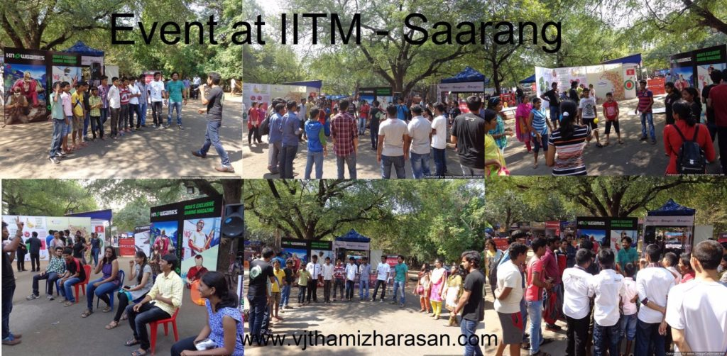 College Activity - IITM Saarang