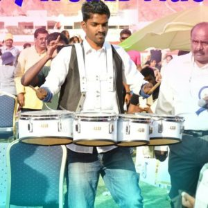 Drummer Tansen performance